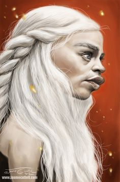 DAENERYS by JaumeCullell on DeviantArt