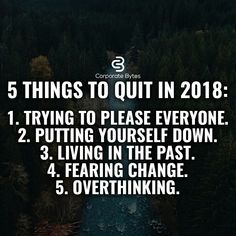Quit all 5 in 2018
