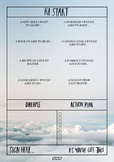 A Guide to Goal Setting - Move Nourish Believe Goal planner action sheet Achieving Goals, Achieve Your Goals, Believe, Self Development, Personal Development, Goal Setting Worksheet, Goals Worksheet, Goal Planning, Never Too Late