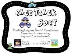 Rack Track Vowel Sort