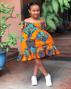 african fashion ankara Cute Fashion and Styles for African Queens - Creative and Stylish Designs You will Love African Dresses For Kids, Latest African Fashion Dresses, African Print Dresses, Dresses Kids Girl, Girls, African Children, Baby African Clothes, Ankara Styles For Kids, Moda Afro