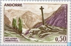 Andorra - French - Landscapes 1961