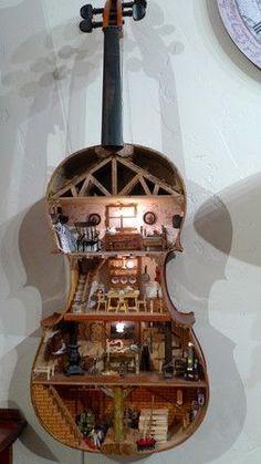 Guitar Dollhouse 2