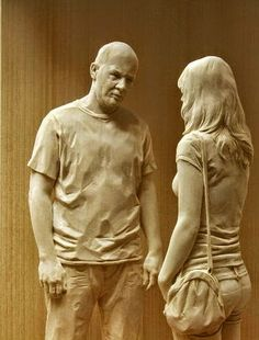Born in Bolzano (Italy) in 1969, the sculptor Peter Demetz now lives and works in the Italian town of Ortisei.