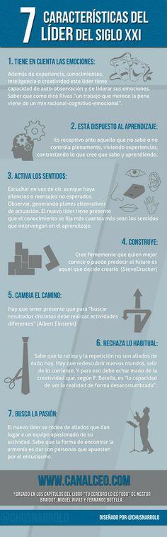 #Infografia #Liderazgo: 7 características del líder del siglo XXI | Canal CEO