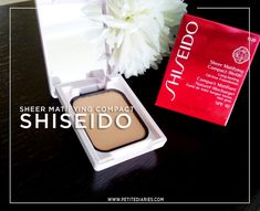 SHISEIDO GINZA TOKYO japan Sheer Matifying Compact Foundation Review - http://www.petitediaries.com/2018/03/review-shiseido-sheer-matifying-compact.html - #BEAUTYBLOGGER #shiseido #cosmetic #japansecosmetic #japanesemakeup #japanese #beauty
