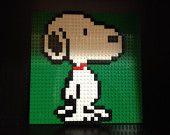 Custom Lego Snoopy Mosaic <3