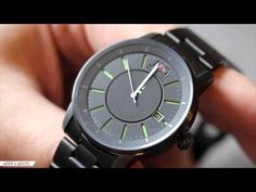 ORIENT DISK ER02005B REVIEW - YouTube Color Palate, Watch Video, Stainless Steel Bracelet, Cool Watches, Simple Designs, Design Elements, Youtube, Simple Drawings, Elements Of Design