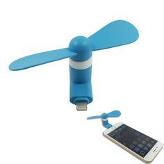 Amazon.com: ULT-unite USB Micro Phone Fan,Phone Mini Fan for iphone6/6 plus, iphone 5/5s with Micro USB Port fan (black): Cell Phones & Accessories
