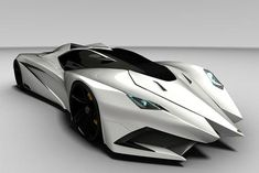 #Lamborghini's Batmobile-like Ferruccio concept. I would hate to be the pedestrian hit by this #car...