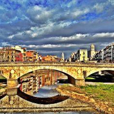 Girona in Gerona, Cataluña