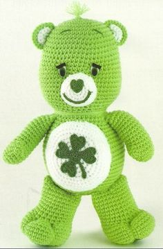 Care Bear crochet: The Vintage Toy Chest: Crochet Patterns (all free patterns). by Donna Leahy