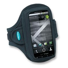 "This lightweight and comfortable armband was designed for smartphones 4.5"" – 5"" in length and fits iPhone5, Motorola Atrix 2, Motorola Droid Razr M, Droid X, HTC ThunderBolt and more. With all its features and benefits you'll enjoy unmatched comfort, convenience and protection while you run, workout or listen on the go."