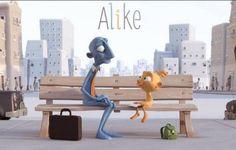 Alike es un corto sencillo, rápido y entrañable. En menos de 8 minutos nos muestra de manera gráfica y vivaz cómo desaparece la creatividad en la infancia.