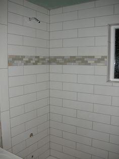 shower progress