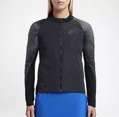 NEW WOMEN'S Nike Sportswear Dynamic Reveal Jacket Black Sz Small (828292 010)