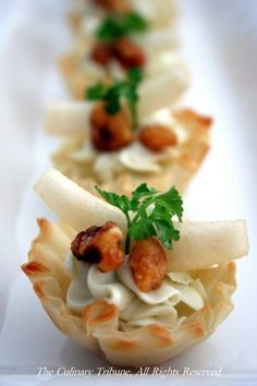 Gingered Pears In Phyllo Cups Recipes — Dishmaps