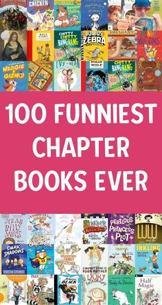 Best and funniest funny books for kids! Get your kids reading and laughing! Great for reluctant readers. Easy chapter books through middle grade! The best books!