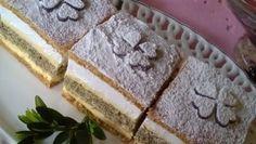 FOTORECEPT: Francúzsky makový krémeš Dairy, Bread, Cheese, Food, Basket, Brot, Essen, Baking, Meals