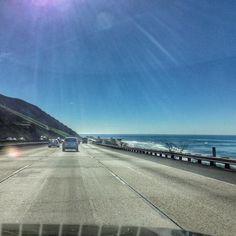 O Pacífico costeando a estrada... #malasepanelas #MPnaCalifornia #california #pacificocean #rbbv #rbbviagem #travelgram #instatravel #pch