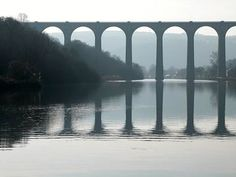 « Le viaduc à Port Launay » Photo Bretagne, Brittany, Roads, Top, Photo Galleries, Mirrors, Road Routes, Bretagne, Street