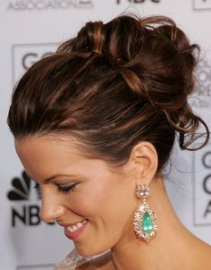Hair--love this for Ashley & Michael's wedding (possible bridesmaid's hair?? :)