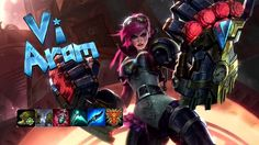 Vi the Piltover Enforcer – League of Legends Wallpapers) – Free Backgrounds and Wallpapers Vi League Of Legends, League Of Angels, Theme Song, Comic Character, Overwatch, Cyberpunk, Master Chief, Fan Art, Superhero