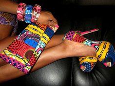 African fashion ~ Colette Le Mason @}-,-;---