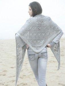 Paru dans le TRICOT Mag  n° 17 spécial châles et étoles (en kiosque,  éditions de Saxe ), voici un magnifique châle tricoté avec AROBAS de  Plassard, ... 5a631d0d213