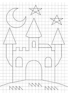 Preschool Writing, Kindergarten Math Worksheets, Preschool Learning Activities, Free Preschool, Kids Learning, Nursery Worksheets, Pre K Worksheets, Graph Paper Drawings, Graph Paper Art