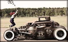 Suicide Shift Rat Rod...