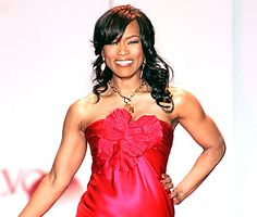 Angela Bassett: Amazing actress, classy woman, and check out those arms!