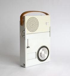 Dieter Rams designed portable radio for Braun (1959)