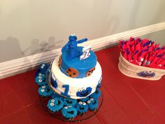 Jay's Cookie Monster Party