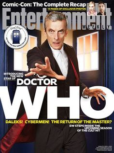Pop Culture Safari!: See the new Doctor Who cover for Entertainment Wee...