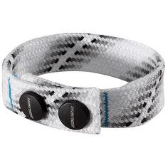 Bauer Skate Lace Hockey Bracelet for caleb