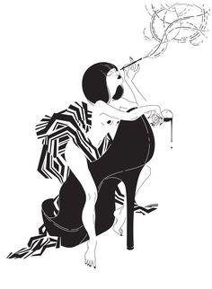 La mujer es dualidad e incertidumbre. Es todo lo que escapa. Y nadie entiende mejor esto que Gloria Pizzilli, una ilustradora de origen italiano cuyas...