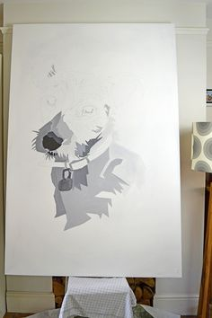 How to paint your own giant wall art
