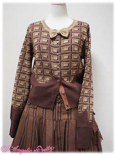 AP Royal Chocolate cardigan (brown)
