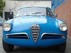 Betrone 1957 Alfa Romeo Giulietta Sprint Veloce Lightweight