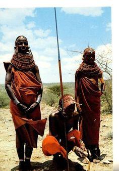 Samburu Tribesman Kenya