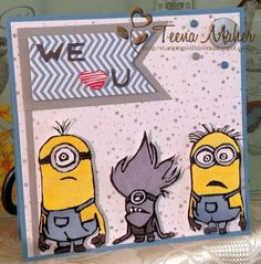 Minions Undefined Stamps