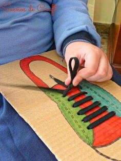 Make board activities for smaller kids, store in something like hanging folder or vertical shelf or pin to a wall or ...
