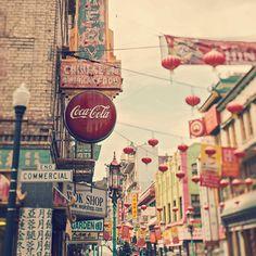 Chinatown, urban, street, laura ruth