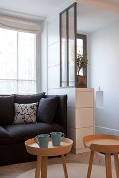 via Christiansen Design Living Room Designs, Living Room Decor, Living Spaces, Living Room Flooring, House Entrance, Home Interior Design, Small Spaces, New Homes, House Design