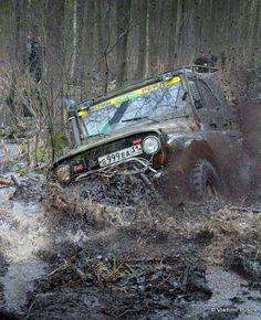 UAZ  Off road race Russia