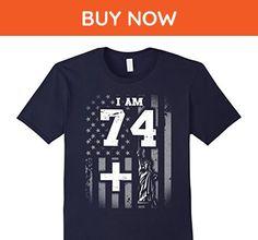 Mens 75th Birthday Vintage 1942 Tee Shirt Medium Navy - Birthday shirts (*Amazon Partner-Link)