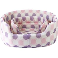 Dot Mesh Fabric Summer Pet Nest Kennel Small/Large Pet Dog Cat Bed Breathable Cool Pet Mat (S, Pink) >>> Click on the image for additional details. (This is an affiliate link) #BedsFurniture