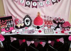 natalie's Barbie party ideas