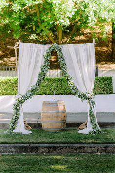 Photography: Christine Sargologos Photography - sargologos.com   Read More on SMP: http://www.stylemepretty.com/california-weddings/2015/10/16/relaxed-elegant-california-garden-wedding/